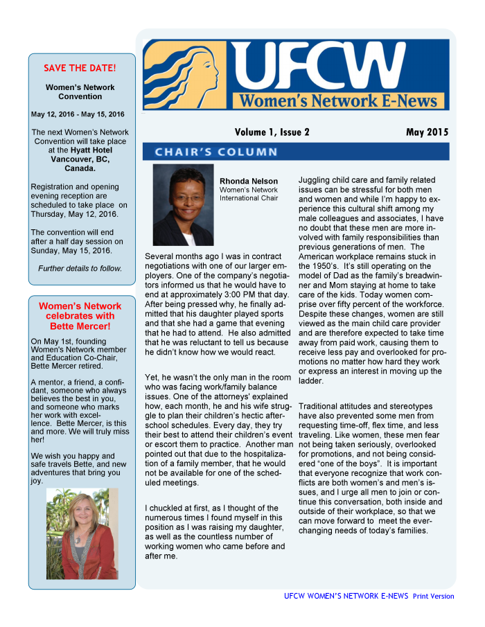 Women's Network E-News_May 2015