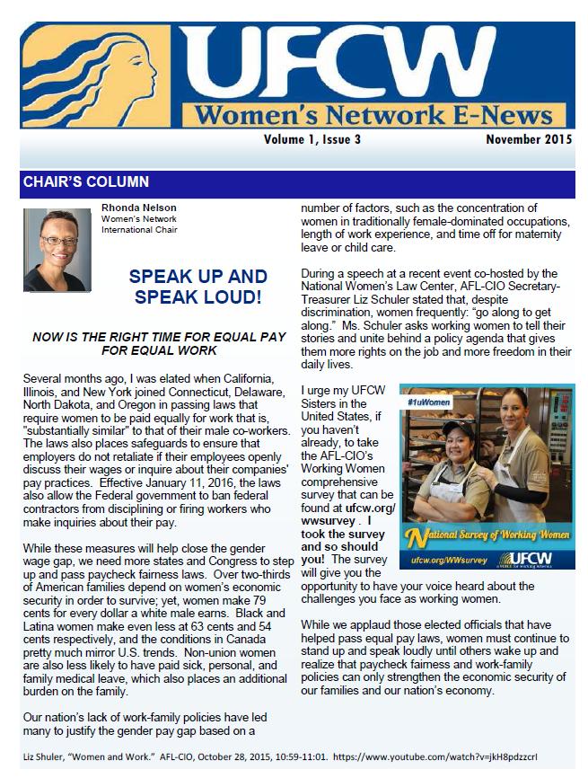 2015 November Newsletter
