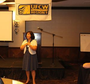 Esther Lopez, UFCW International Executive Vice President, shares, Tell Your Story!